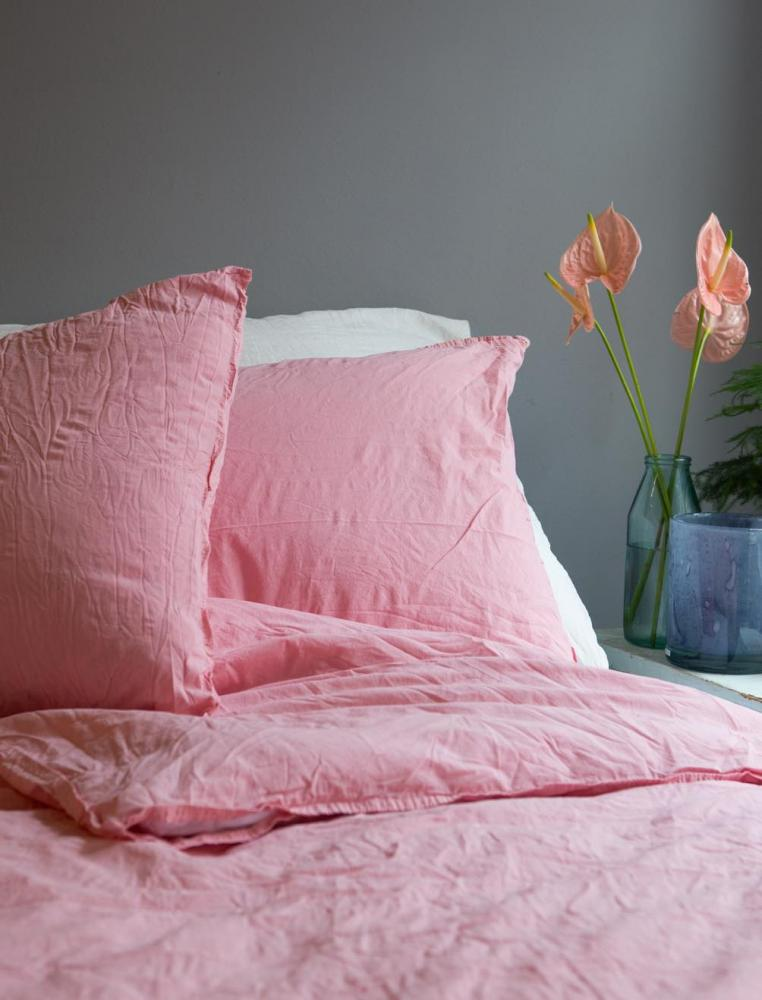 50x60cm Pillowcase Crinkle Blush Pink