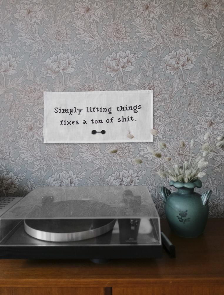 Simply Lifting Tapestry