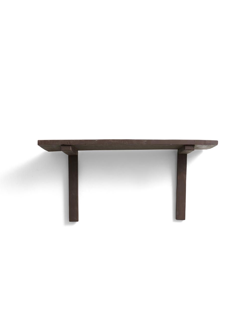 Brown Wall Shelf Reclaimed Wood