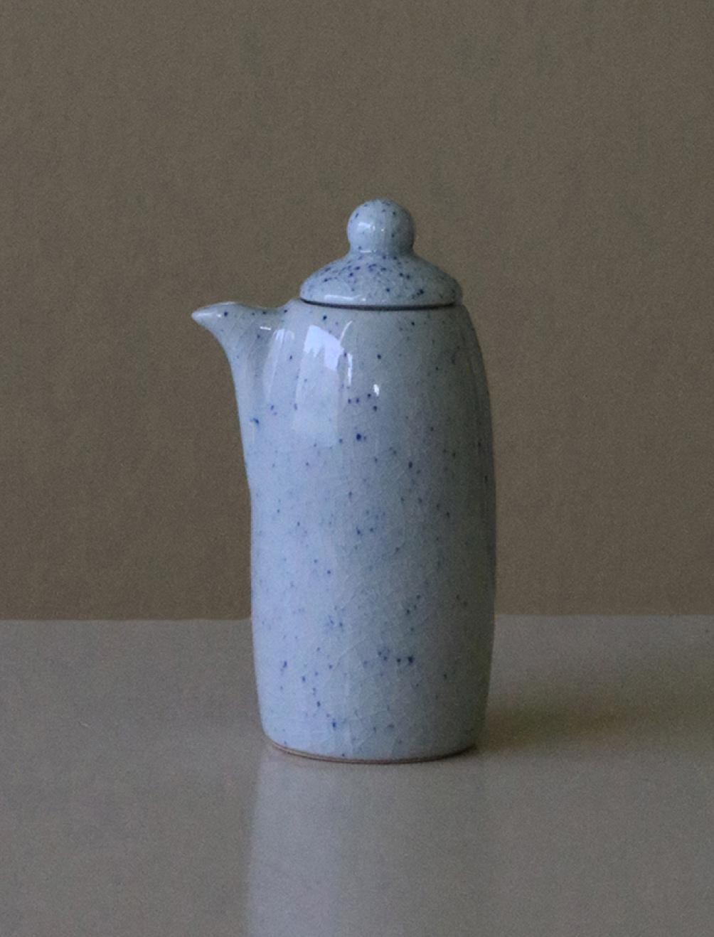 Pure Stain Blue Milk Jug