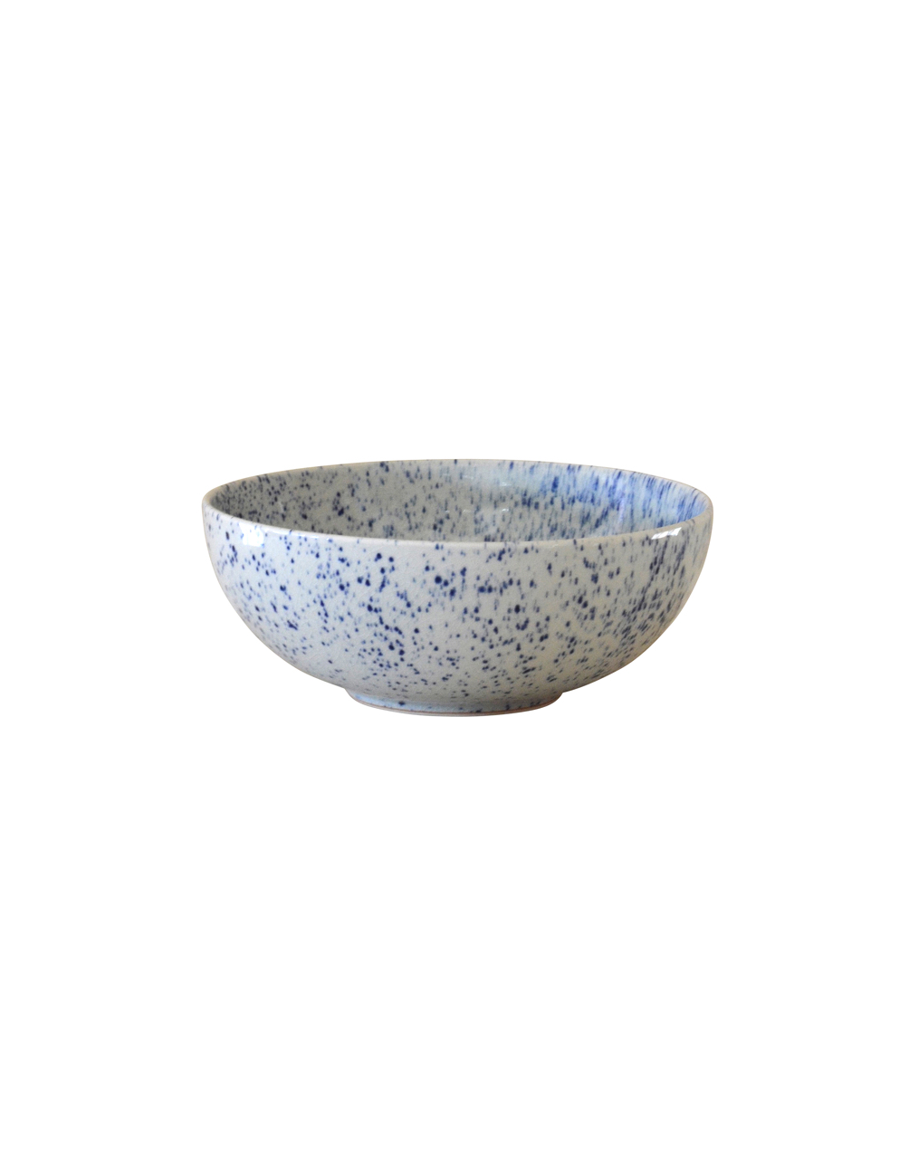 Pure Stain Blue Salad Bowl