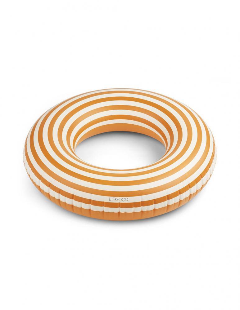 Donna Mustard/Creme Swim Ring