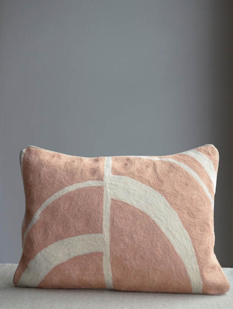 Arches Cushion Pink 30x50cm
