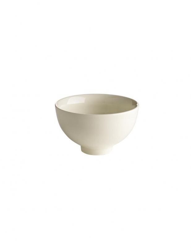 Glazed Porcelain Bowl White 10cm