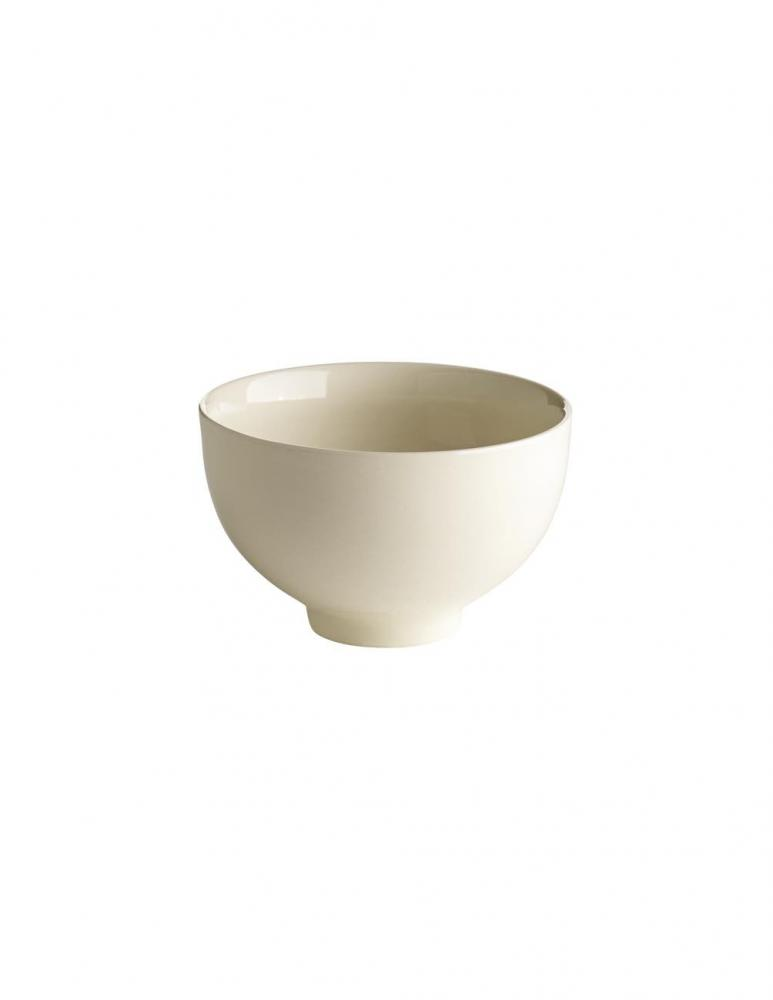 Glazed Porcelain Bowl White 13cm