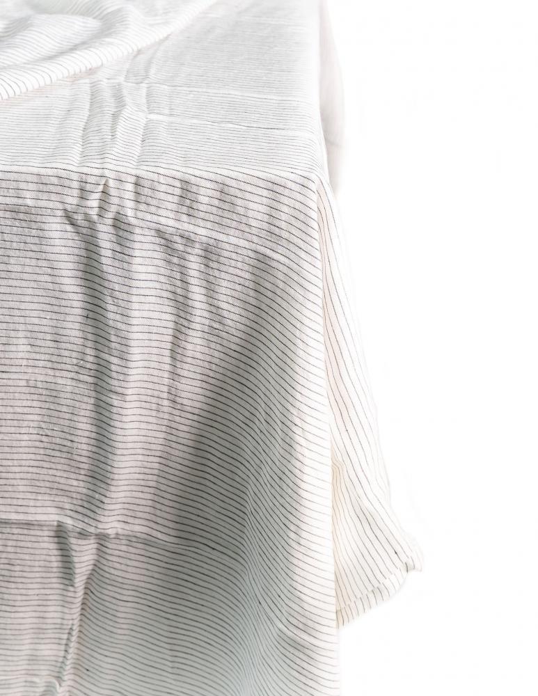 Duk Pinstripe White/Grey