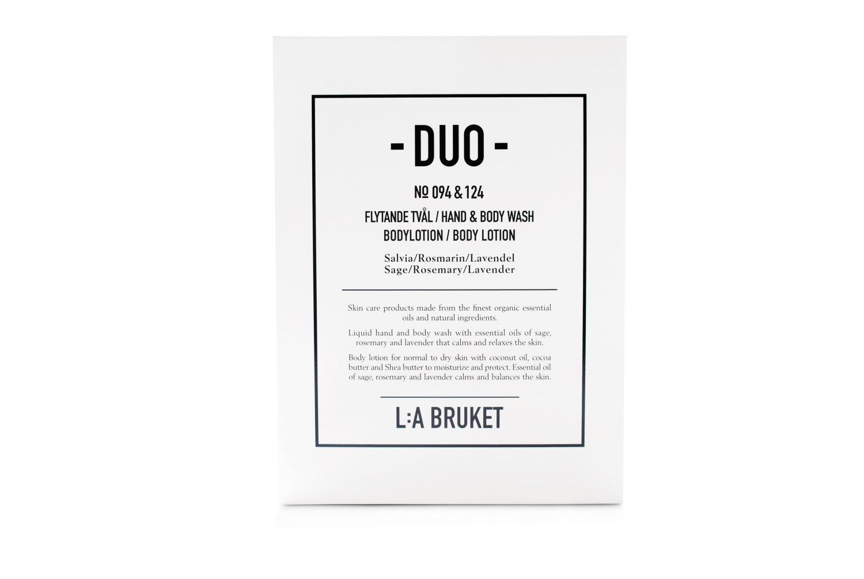 Duokit Tvål/Bodylotion Salvia/Rosmarin/Lavendel