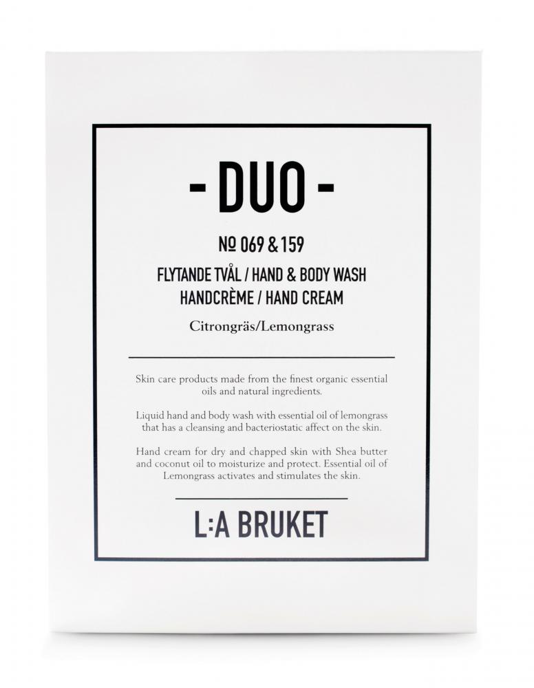 Duokit Soap/Handcrème Lemongrass