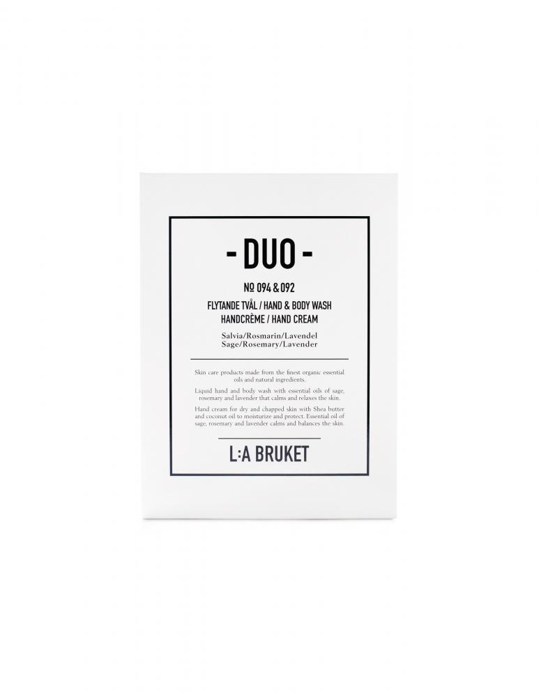 Duokit Soap/Handcrème Sage/Rosemary/Lavender