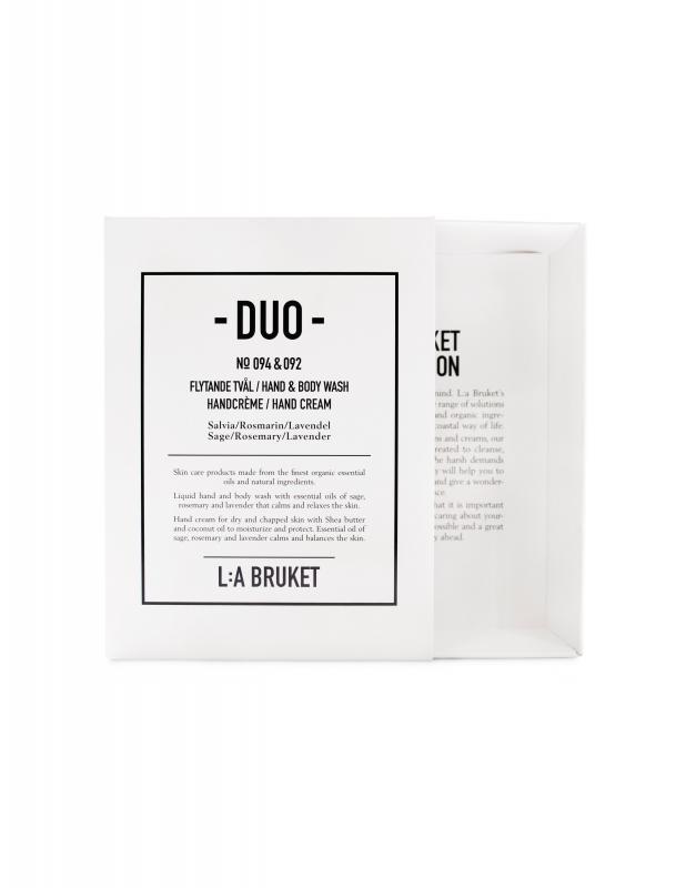 Duokit Tvål/Handcrème Salvia/Rosmarin/Lavendel