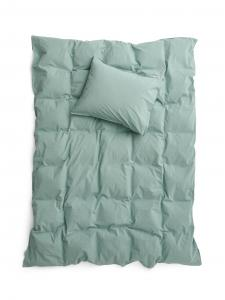 Duvet Cover Set Crinkle Mineral Green