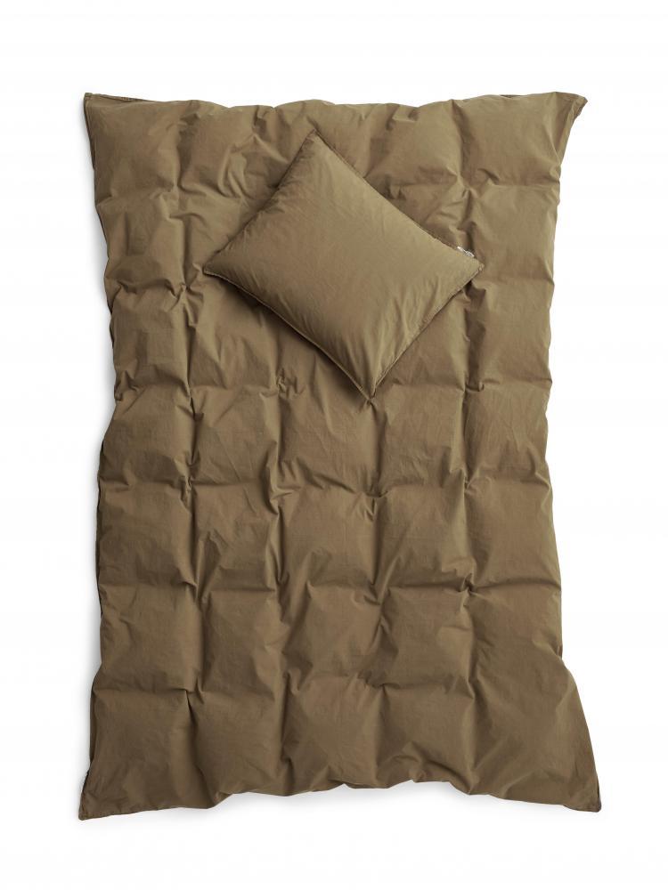 Duvet Cover Set Crinkle Nougat