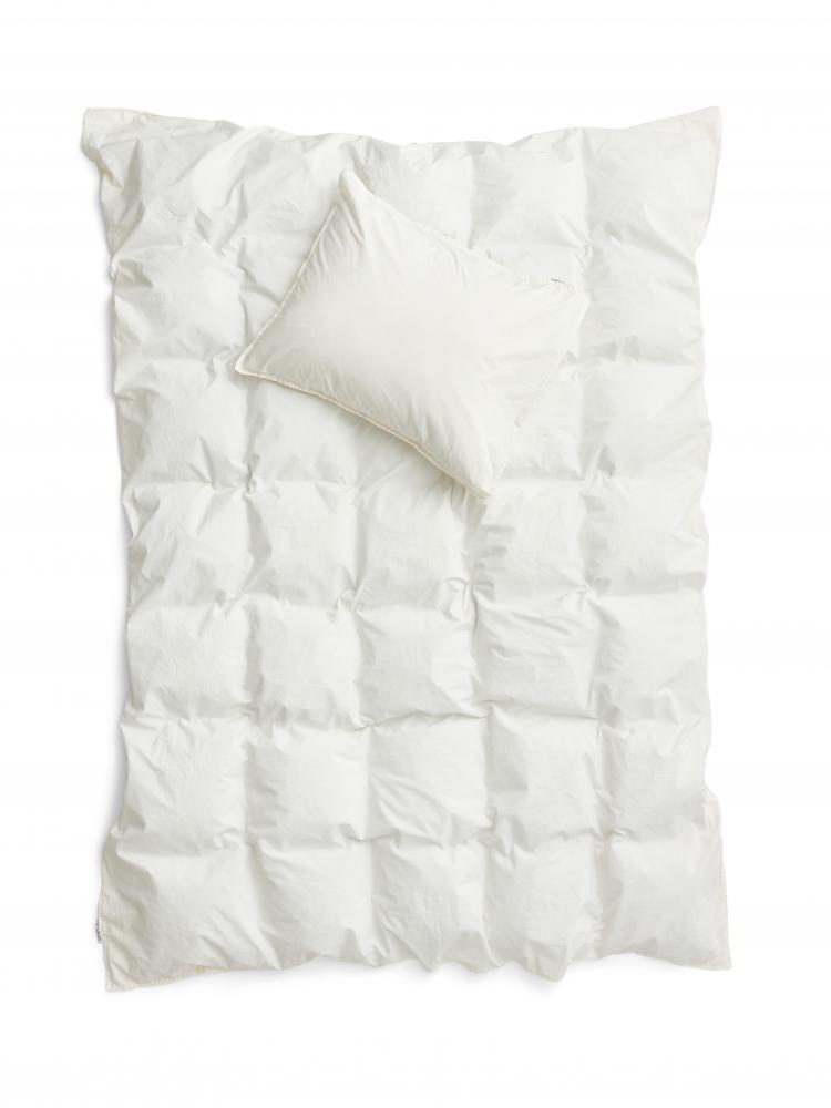 Duvet Cover Set Crinkle Off White
