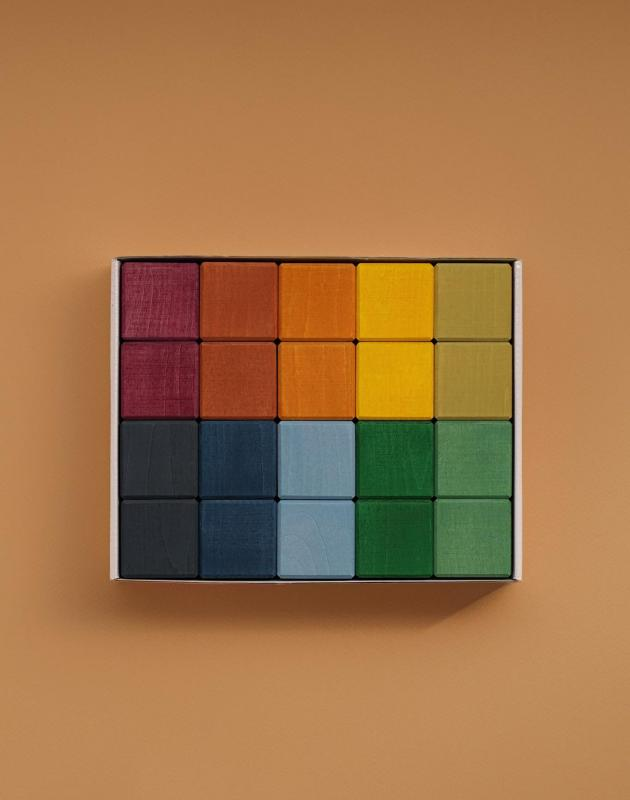 Earth Color Wooden Blocks