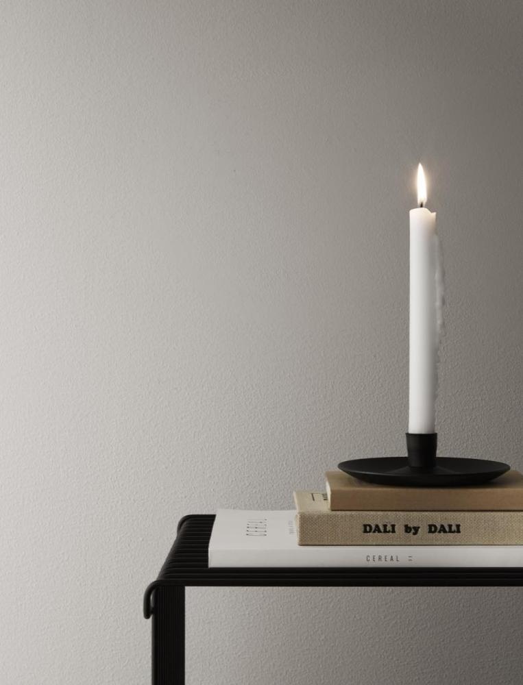Candle Plate Black