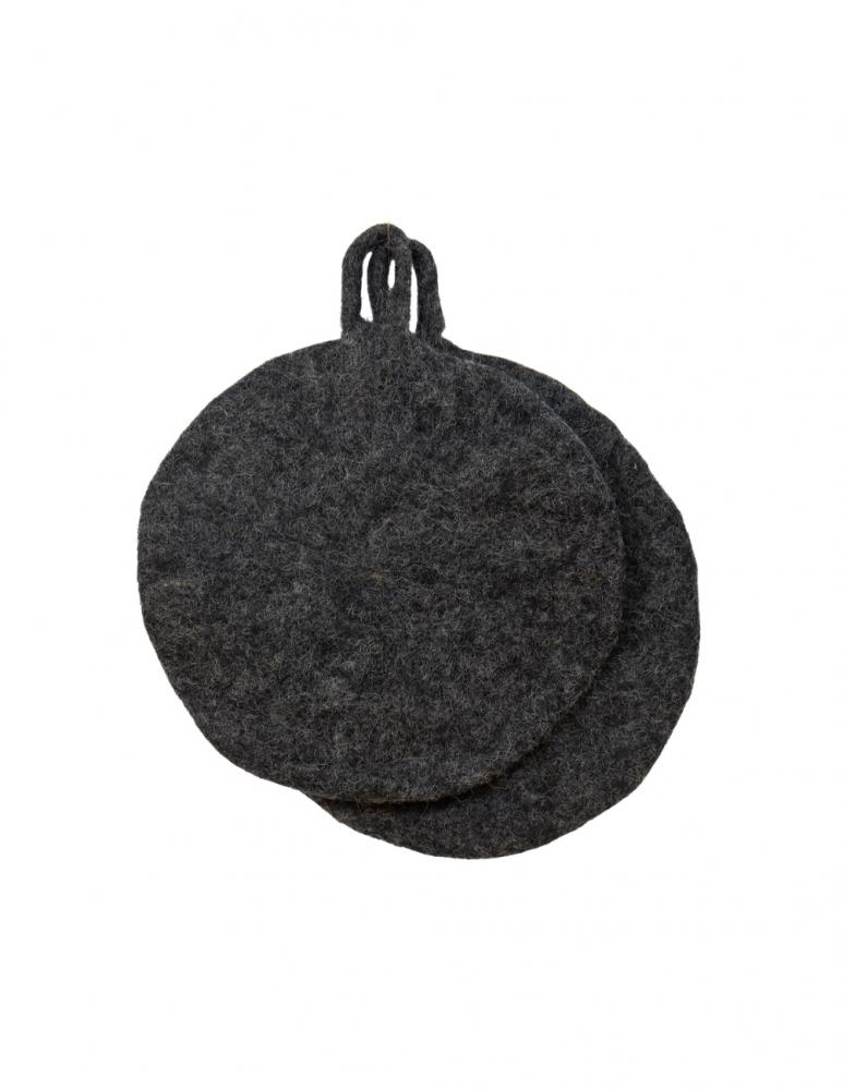 Felt Potholder Grey