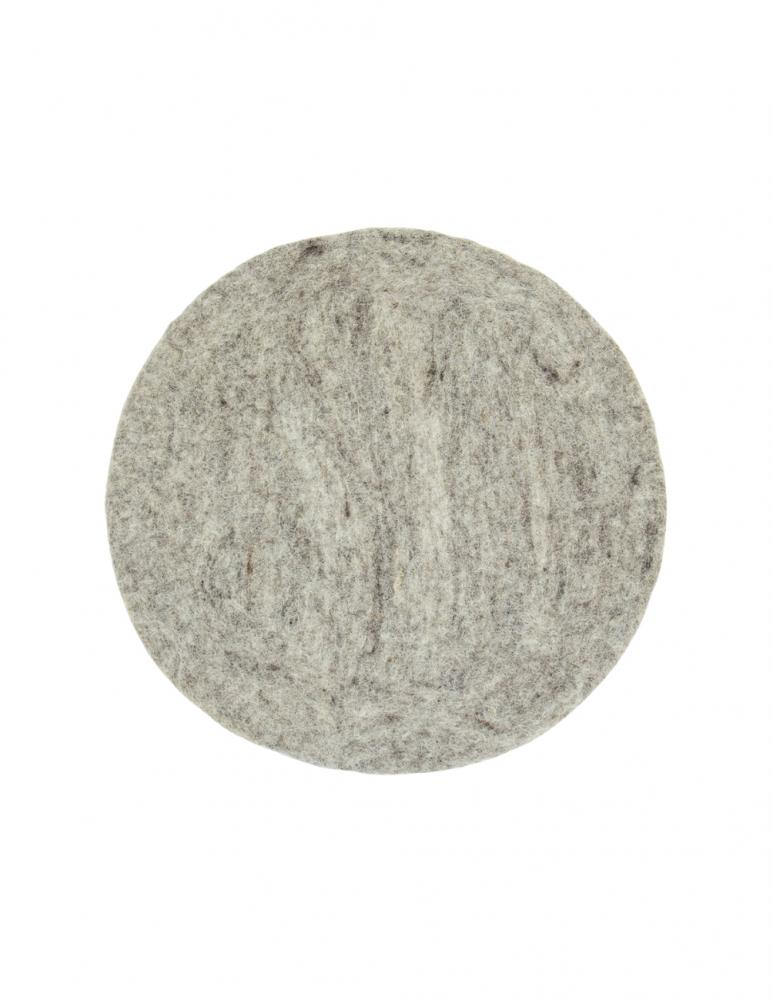 Felt Seat Cushion Light Grey