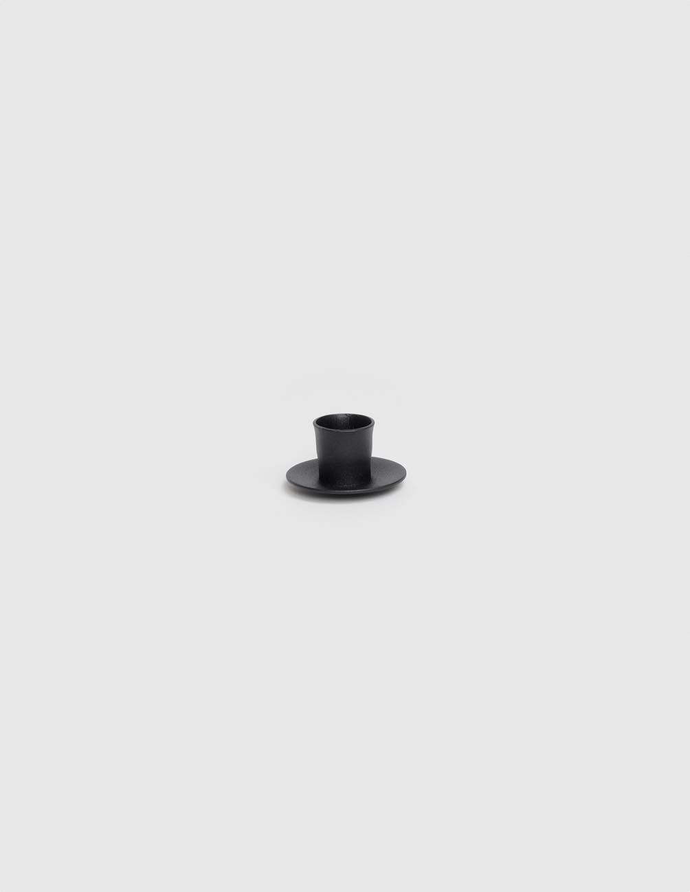 Screwable Candle Holder Black