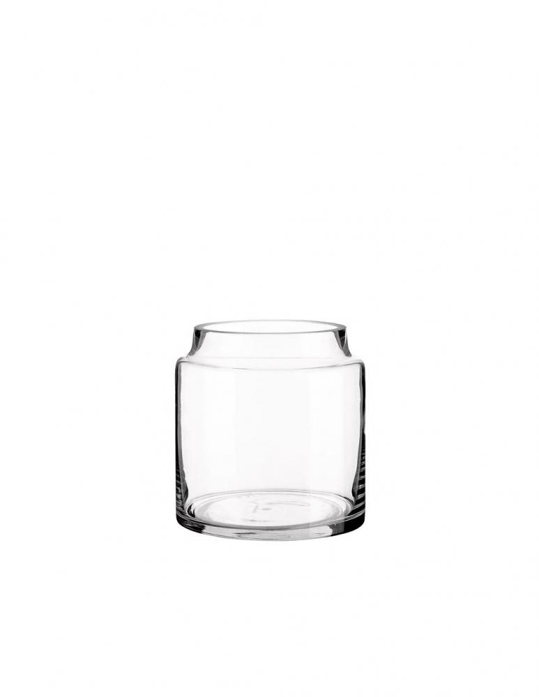 Low Glass Jar