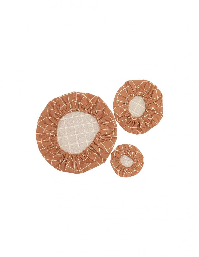 Cotton Covers Terracotta 3-pack