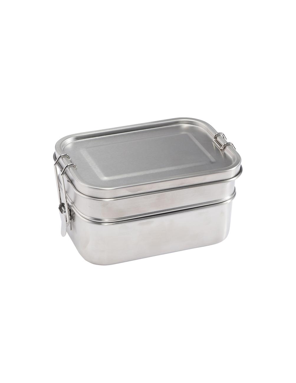 Lunchbox Dubbel Stål