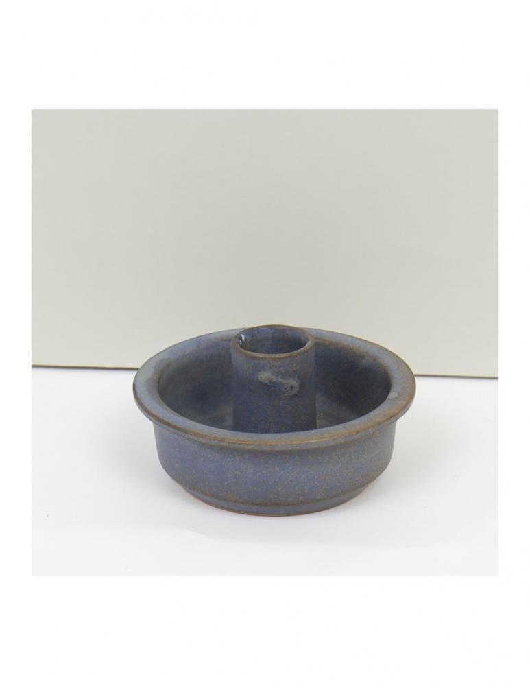 Blue Grey Hera Candleholder