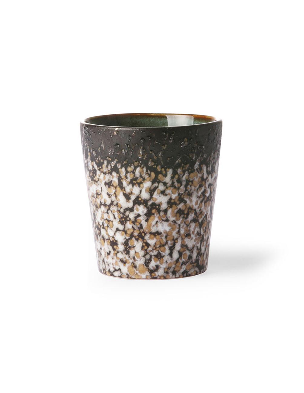 Ceramic 70´s Mug (Mud)