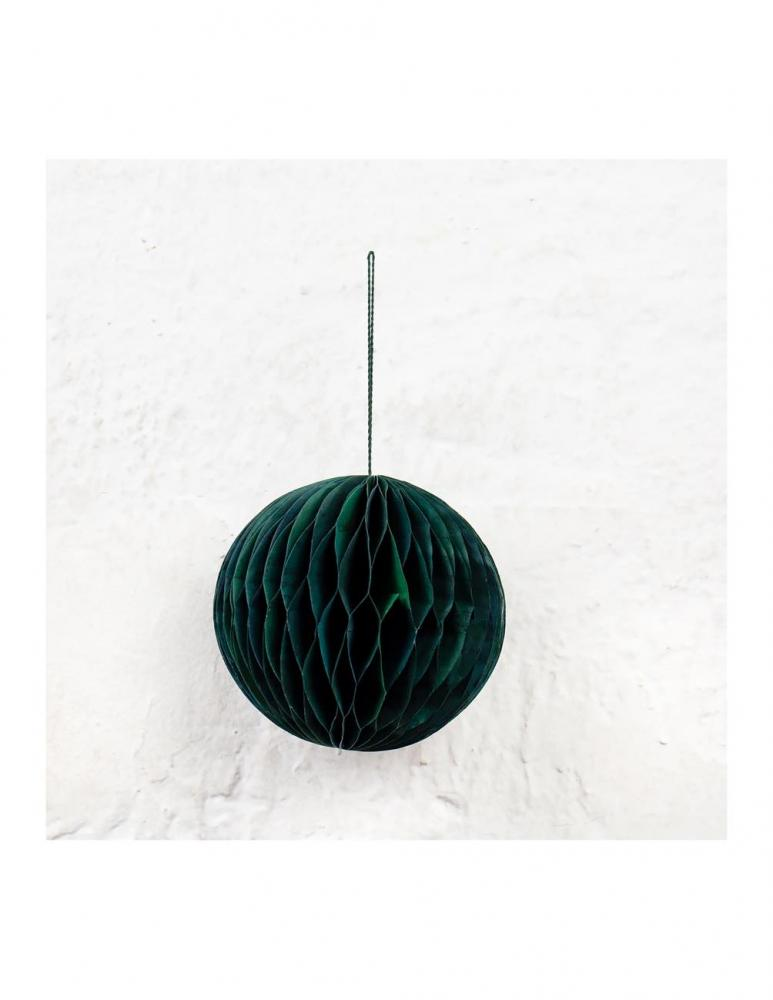 Honeycomb Globe Christmas Ornament