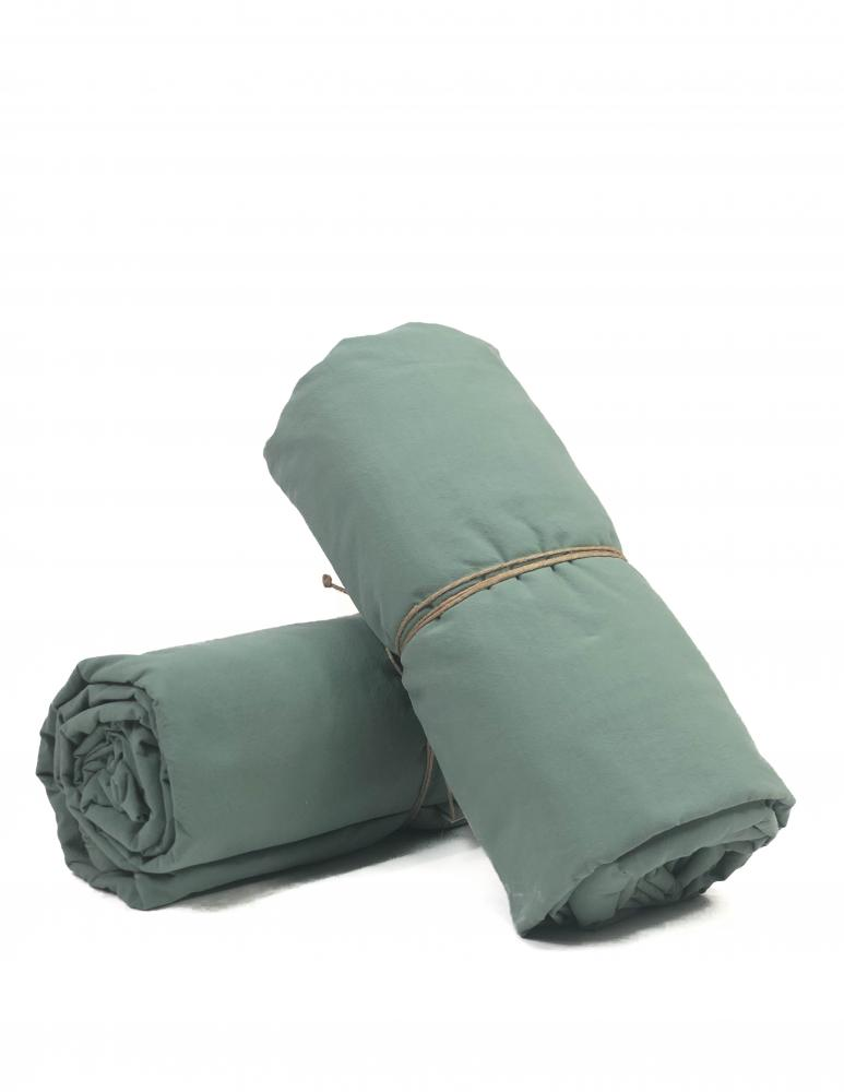 Sheets Crinkle Mineral Green