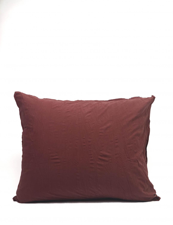 Pillowcase Crinkle Burgundy