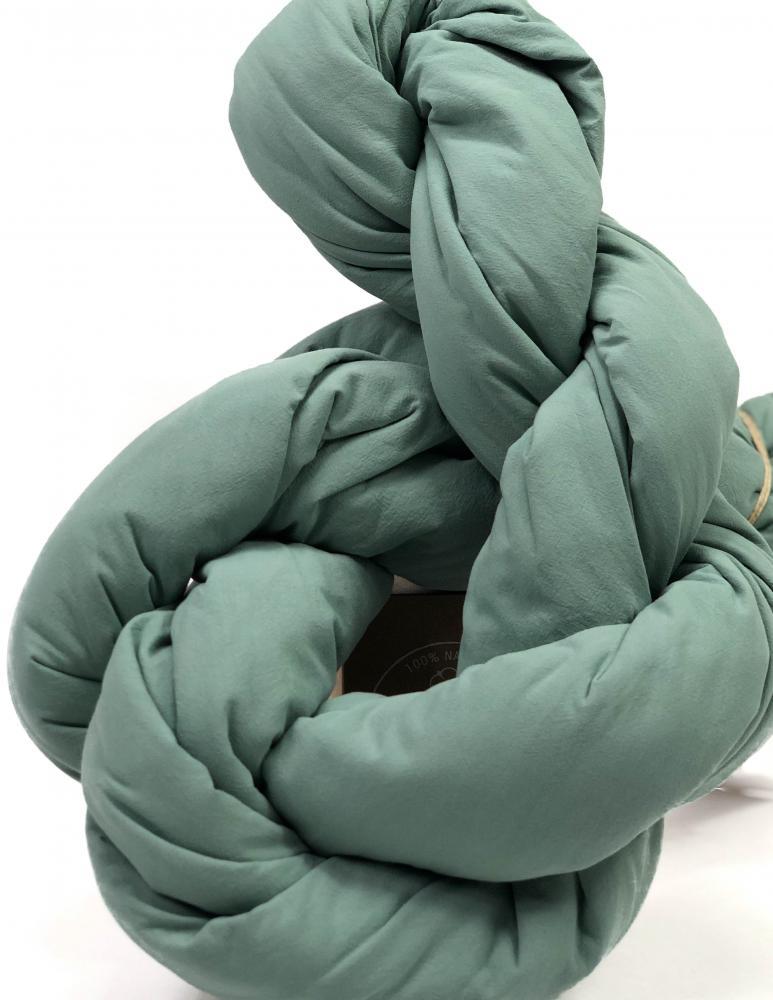 Påslakanset Crinkle Mineral Green