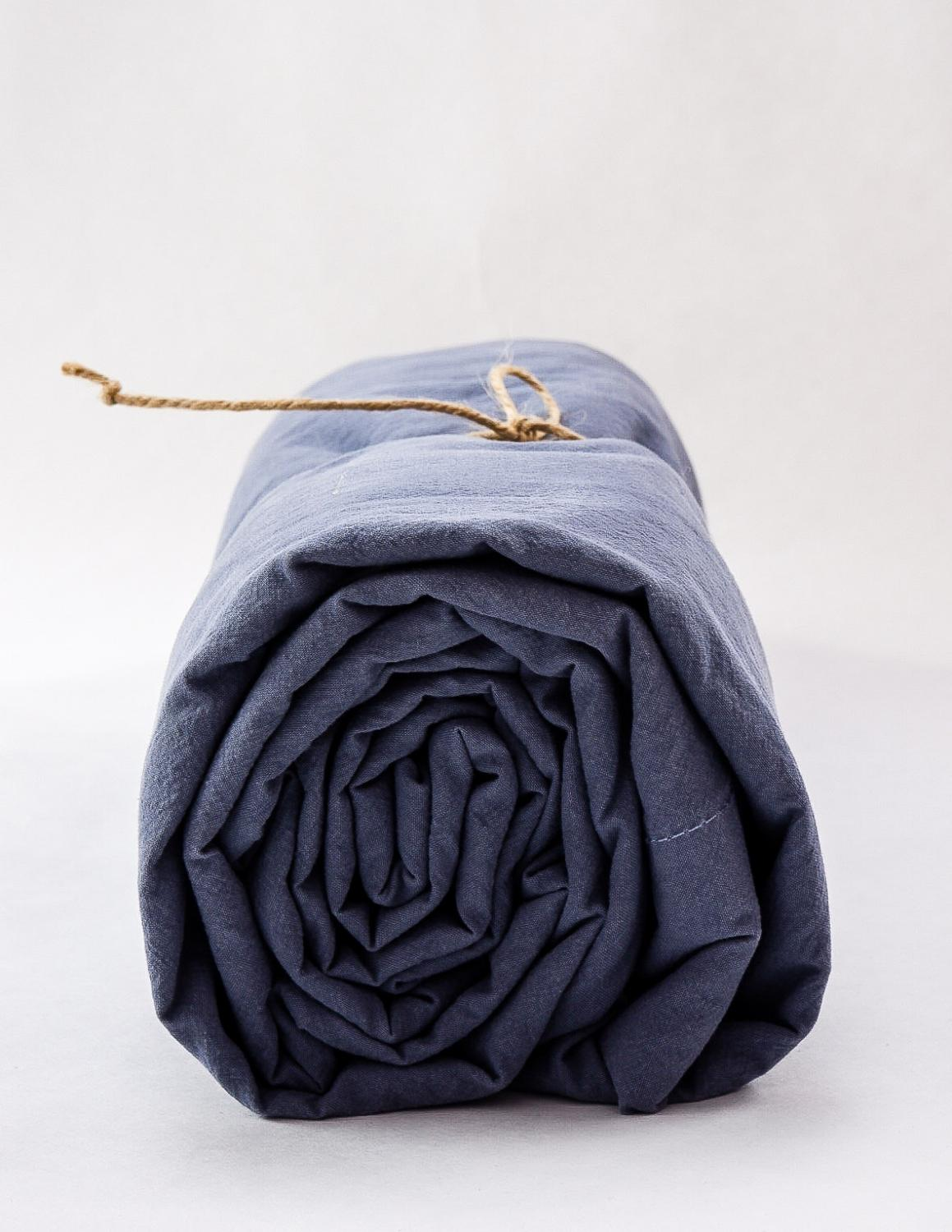Sheets Crinkle Dusty Blue