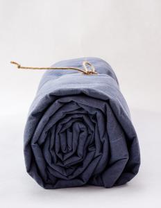Sheets Crinkle Dusty Blue
