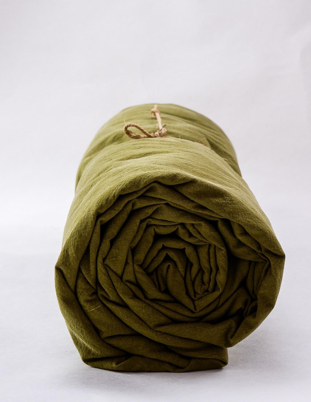 Lakan Crinkle Olive Green
