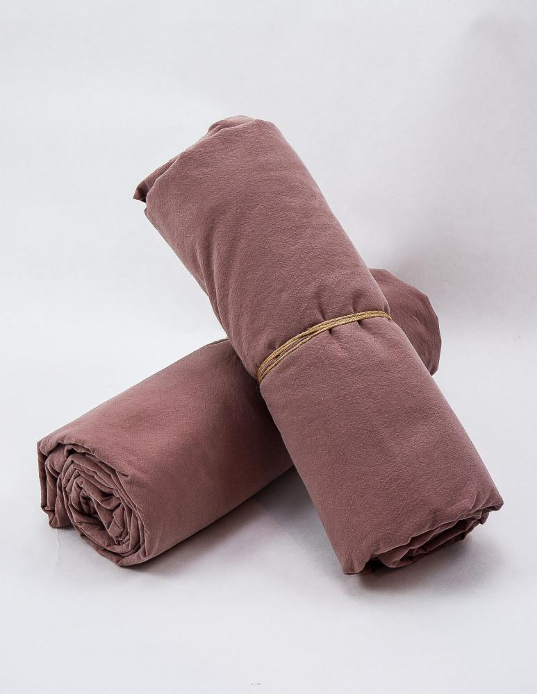 Sheets Crinkle Rose Taupe