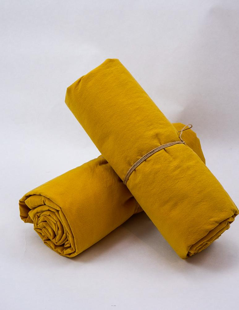 Sheets Crinkle Mustard