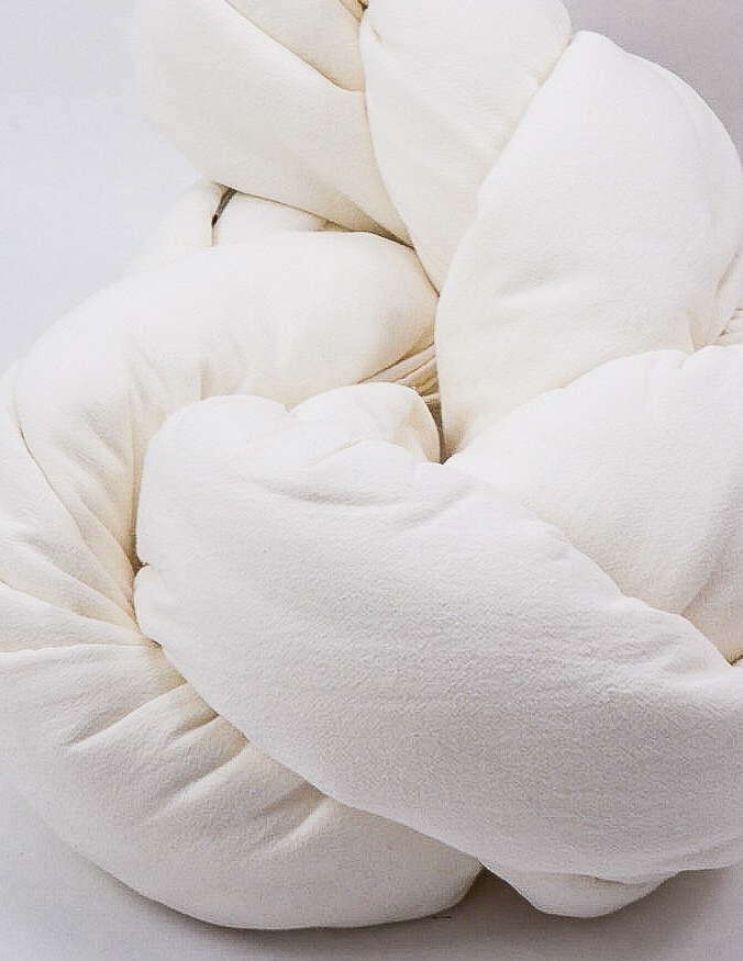Duvet Cover Set Crinkle Off White
