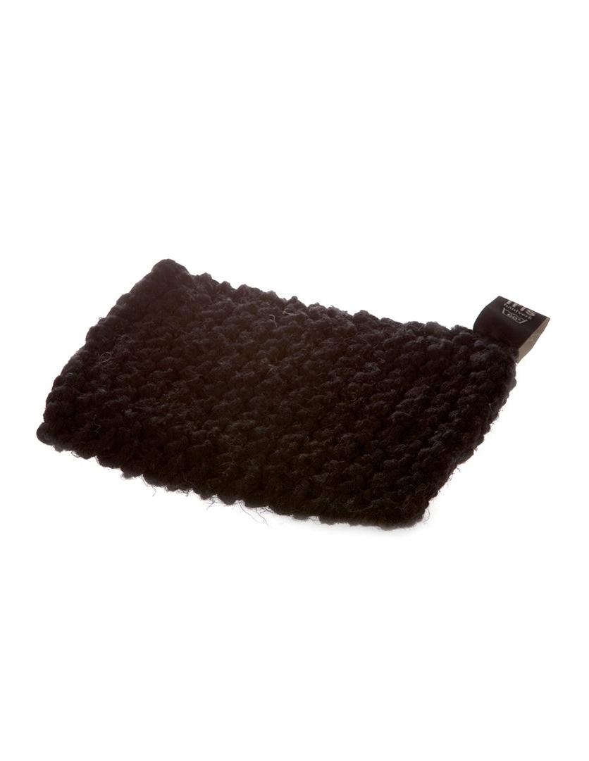 Potholder Linen/Cotton Black