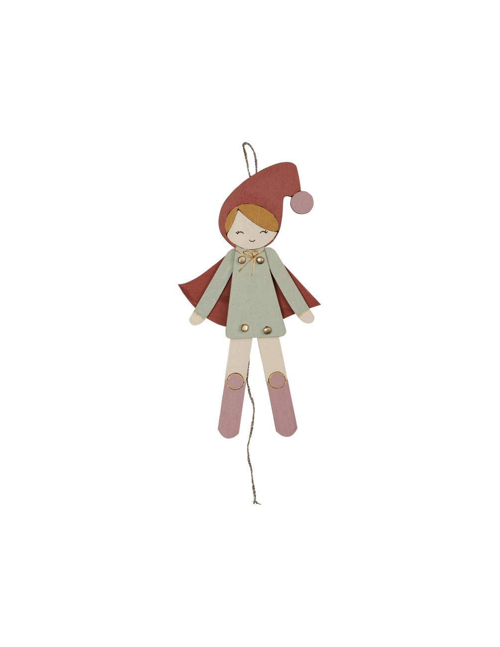 Jumping Jack Elf Girl