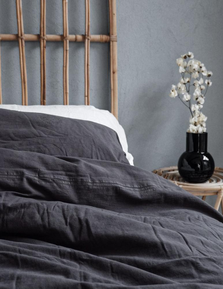 Duvet Cover Set Karin Dark Grey