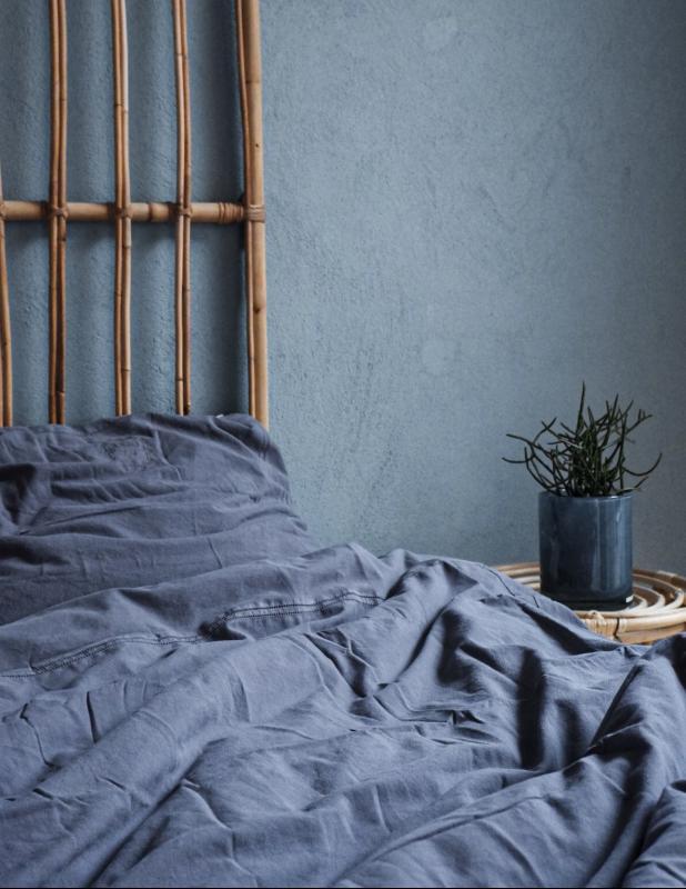 Duvet Cover Set Karin Dusty Blue