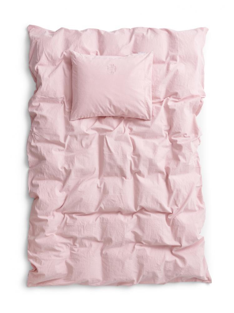 Karin Duvet cover set 100% recycled cotton Blush pink