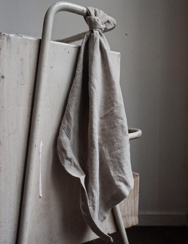 Kitchen Towel Linen Natural