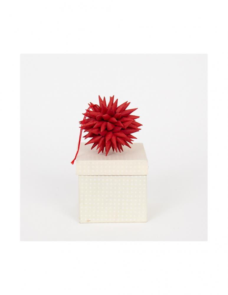 Röd Kotte Julhänge