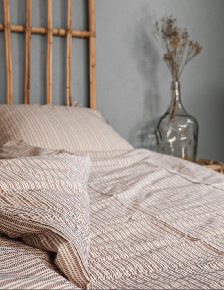 Duvet Cover Set Kristian Rose Taupe