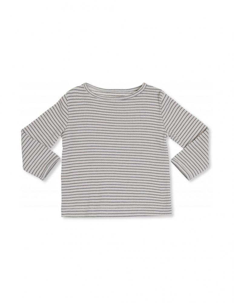 Kaya Long Sleeve T-shirt Beige/Green