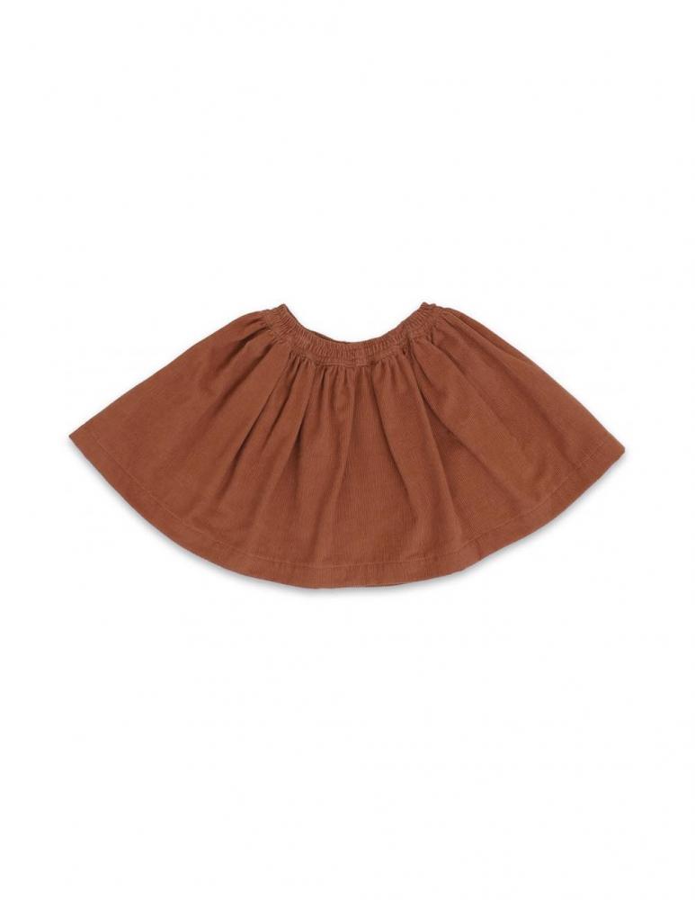 Siri Skirt Rust Red