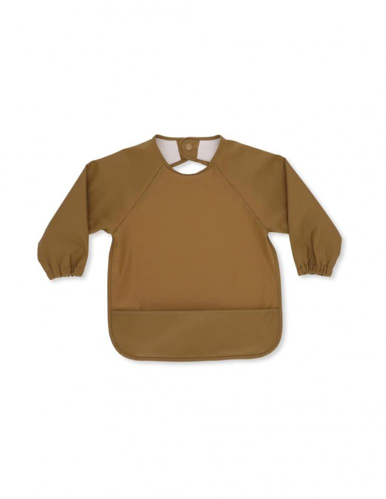 Long Sleeve Bib Dark Honey