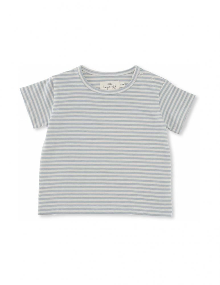 Reya Tee French Blue Stribes