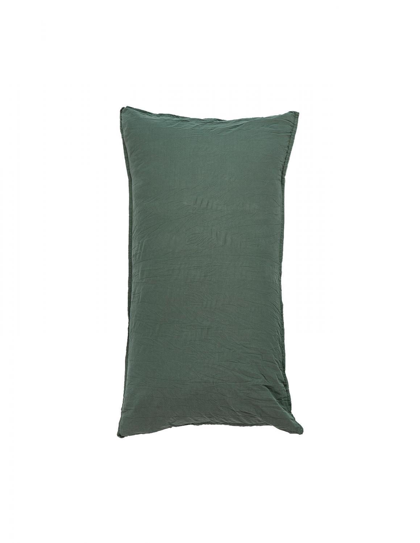 50x90cm Pillowcase Crinkle Petrol